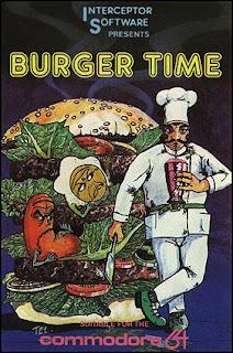Atari 2600 - Burgertime Video Game Review