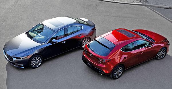 Burlappcar 2020 Mazda3