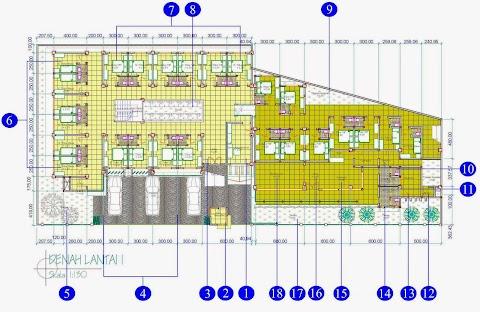 Desain Kost Minimalis Modern Hubungi 082.33333.9949