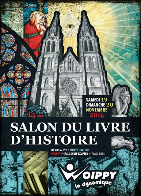 WOIPPY (57) - 14e Salon du livre d'histoire (19-20 novembre 2016)