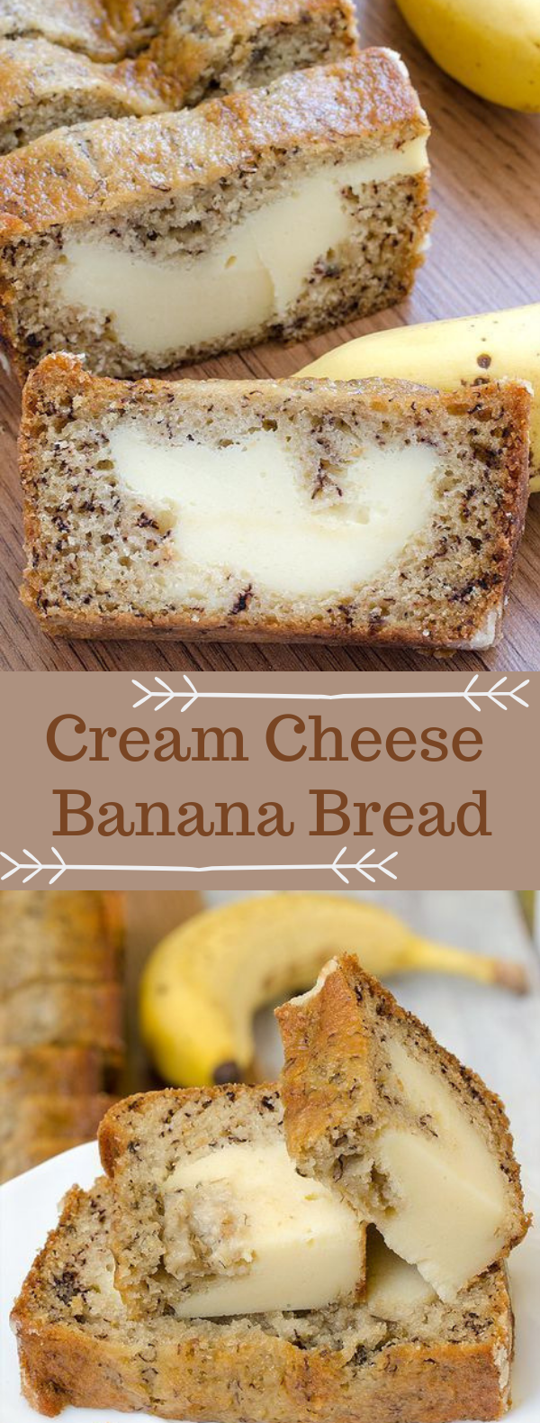 Cream Cheese Banana Bread #banana #cake