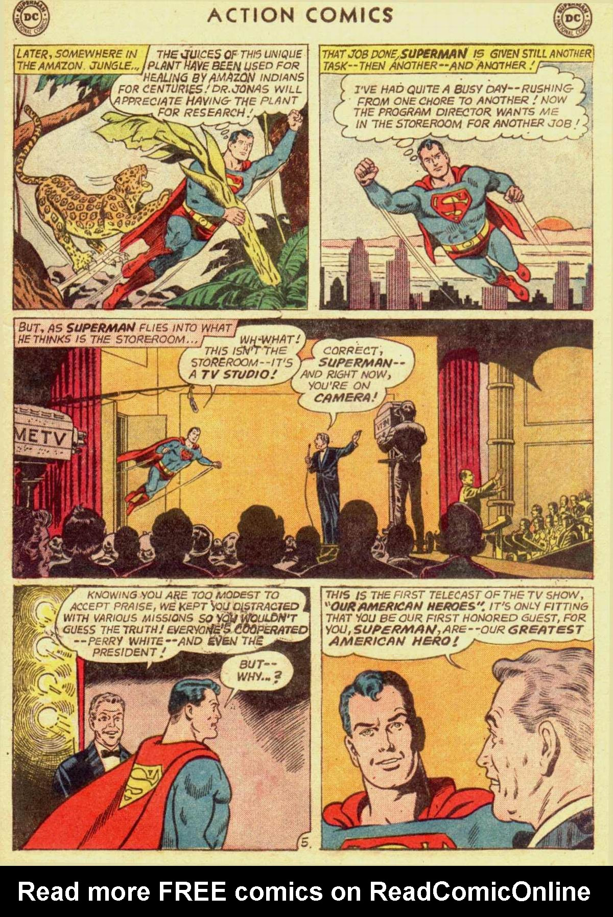 Read online Action Comics (1938) comic -  Issue #309 - 7
