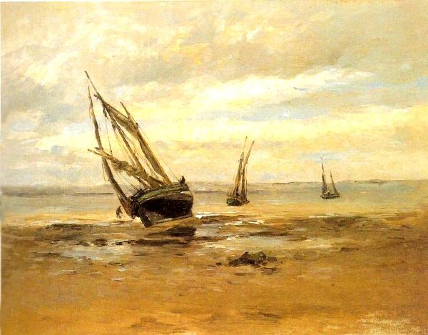 La barca (Carlos de Haes)