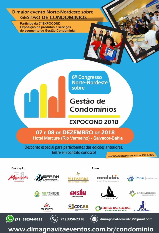 6º Congresso Norte-Nordeste sobre Gestão de Condomínios