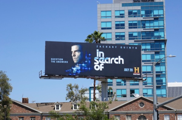 In Search Of series premiere billboard