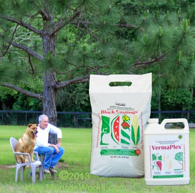 Certified organic lawn fertilizer