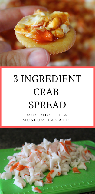 3 Ingredient Crab Spread by Musings of a Museum Fanatic