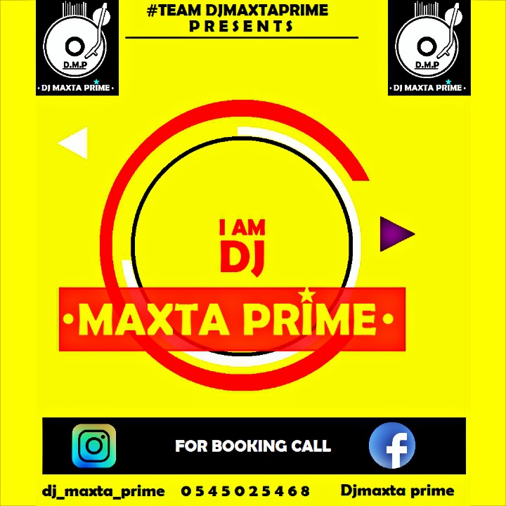 Finally Dj maxta prime takes- over( *Dj splash has acquires new name officially*) read more