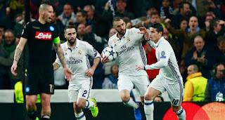 شاهد يوتيوب اهداف مباراة ريال مدريد ونابولي اليوم