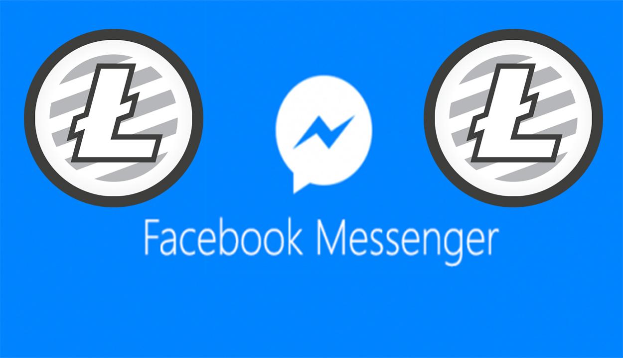حصريا عملة اللايتكوينLitecoin LTC على منصة الفيسبوك ماسنجر Facebook Messenger