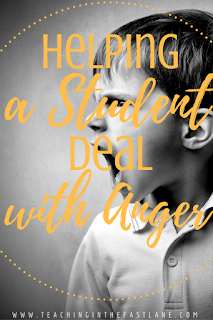 Do you have students that let anger get in their way? Try one (or more) of these no prep tips to keep them on target and conquer the anger instead of letting it control them! The last one was a real game changer in my classroom!