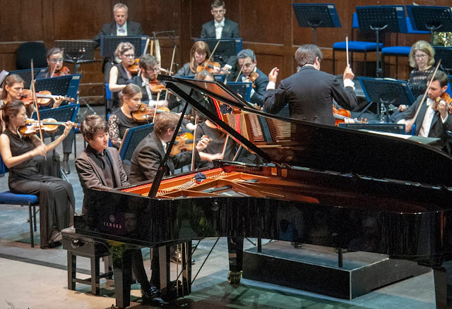 Fumiya Koido & the Royal Philharmonic Orchestra at the Hastings International Piano Competition