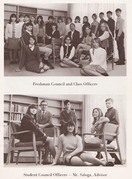 1967-68 Ejd Junior High School Memory Book Phoenix