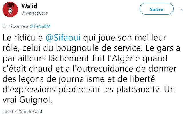 Mohamed Sifaoui est régulièrement menacé et insulté en raison de sa lutte contre l'islamisme