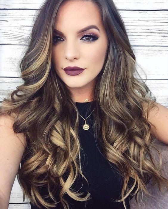 Peinados 2017 Mujer Pelo Largo - + de 50 Cortes de Pelo Largo invierno 2018 Blogmujeres