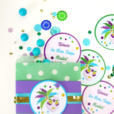 Free Mardi Gras Party Printables