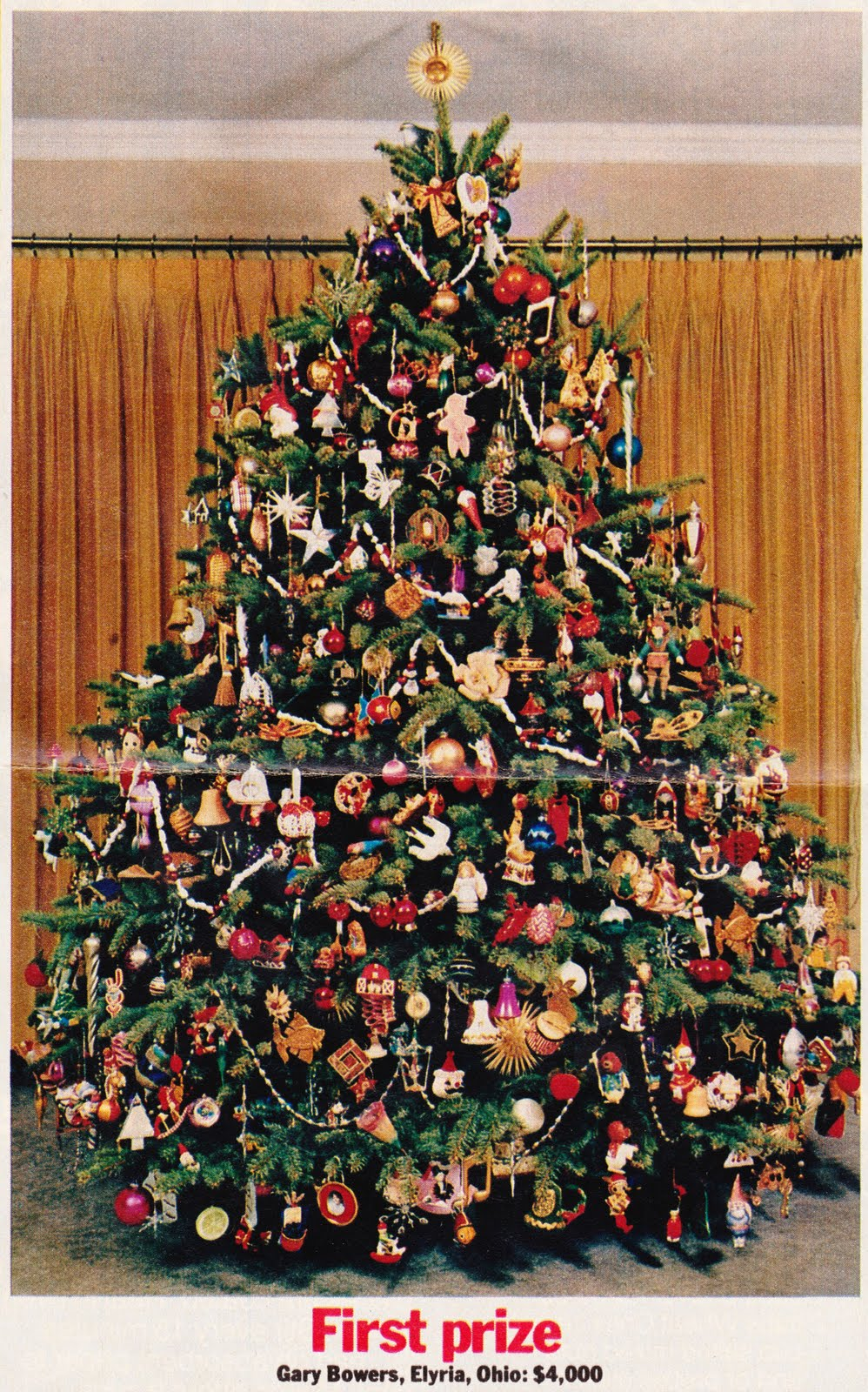 "Papergreat: Family Circle's ""Most Beautiful Christmas Tree ..."