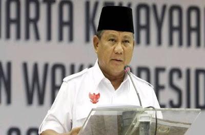 Prabowo Ingatkan Indonesia Dalam Keadaan Kritis