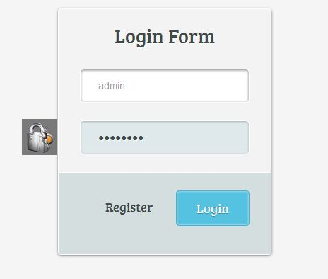 Design Login Form dengan CSS