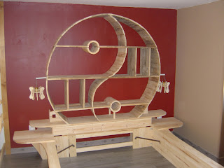 D tail de fabrication de maquette star wars et d 39 objet for Lit yin yang