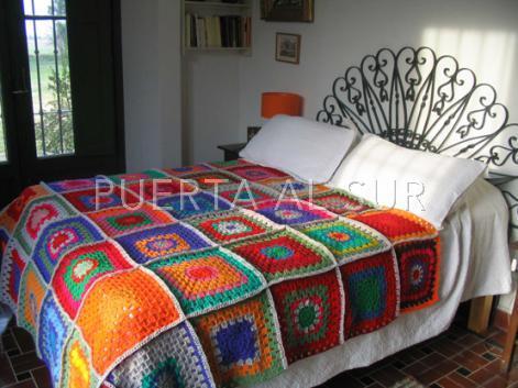 mantas crochet tejidas - Mantas tejidas para abrigarte y decorar