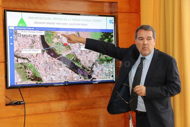 Subgerente Territorial Norte de Essal Pedro Garrido