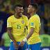 Com gol de Paulinho e Thiago Silva, Brasil derrota a Sérvia, fica em primeiro e vai enfrentar o México