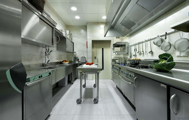 Medium professional kitchen