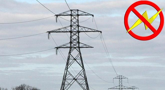 Diyarbakır'ın Hani, Kocaköy, Hazro, Dicle ve Lice ilçelerinde elektrik kesintisi