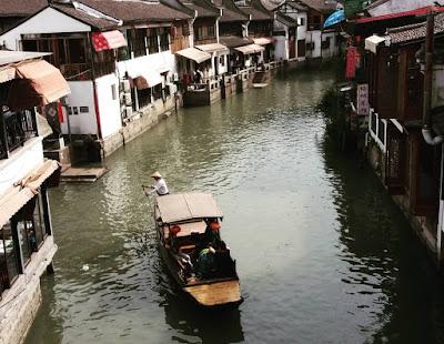 Zhujiajiao pueblo flotante