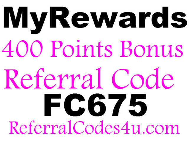 MyRewards Invitation Code 2016, MyRewards App Referral Code, MyRewards Bonus Code, MyRewards Promo Code