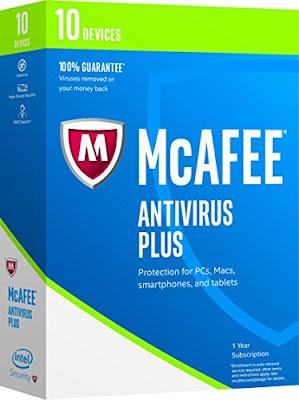 أفضل برامج مكافحة الفيروسات لتصفح آمن لأفراد الأسرة  McAfee Antivirus Plus 2017