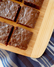 Homemade Espresso Brownies...an easy, rich, fudgy, deep flavored coffee brownie that appeals to even non-coffee lovers! (sweetandsavoryfood.com)