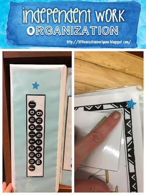 Independent Work Station Organization in Special Education