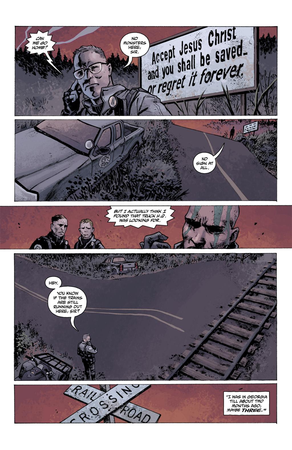 Read online Abe Sapien comic -  Issue #1 - 11
