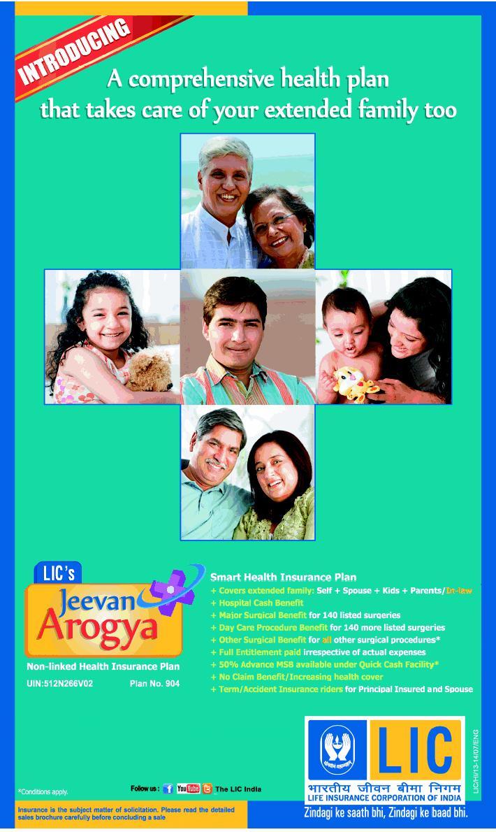 Jeevan Arogya(Table 904) - Premium and Benefit calculator ...