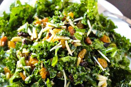 Lemon Parmesan Kale Salad