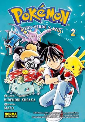 Pokémon Reseña Manga