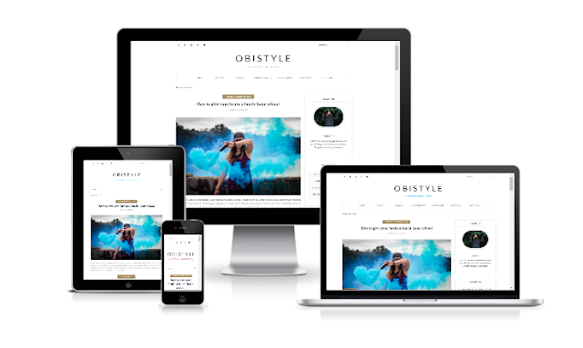 OBISTYLE - Personal Blogger Template