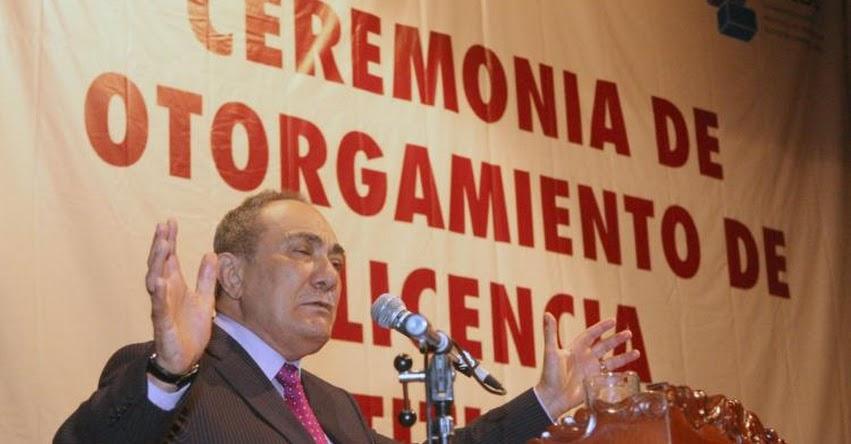 MINEDU: Ministro Vexler pide discutir pronto ampliación de moratoria para nuevas universidades - www.minedu.gob.pe