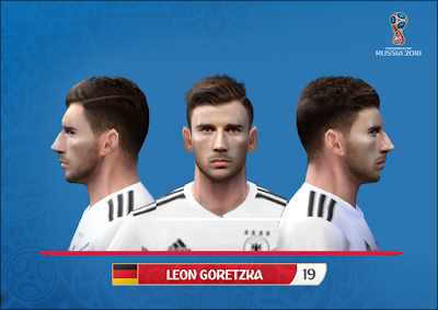 PES 6 Faces Leon Goretzka by Alegor