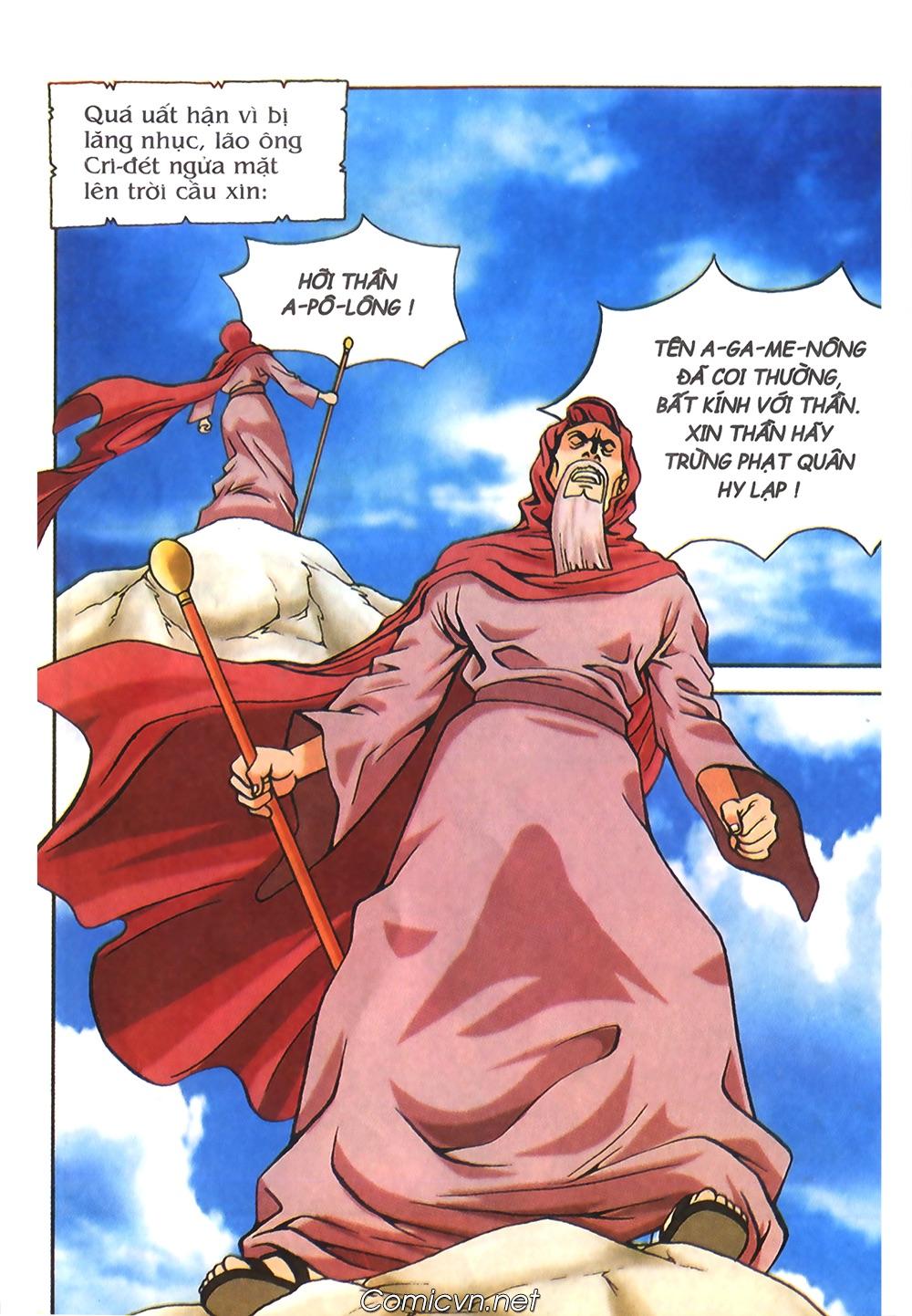 Thần Thoại Hy Lạp Màu - Chapter 56: Hai vị tướng và hai mỹ nữ - Pic 23