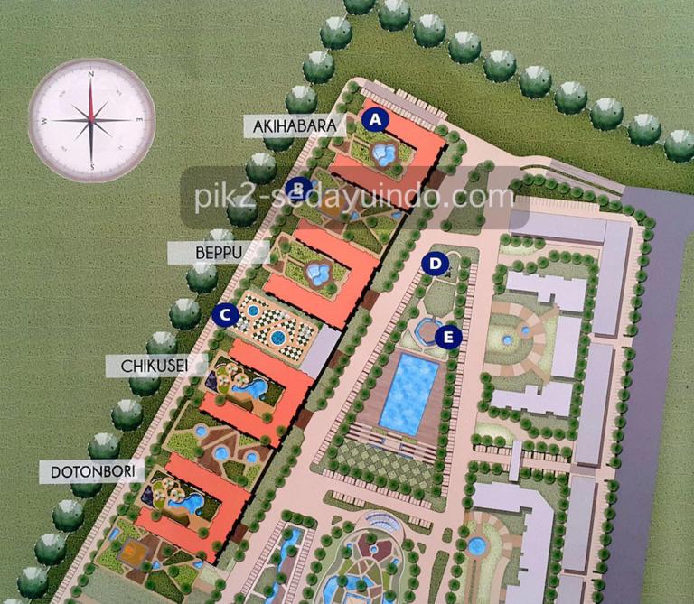 Master Plan Tokyo Riverside Apartment @ PIK2 Jakarta