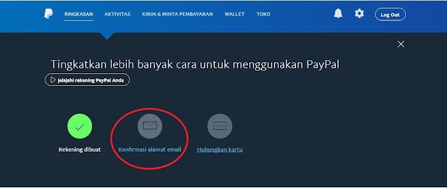 cara verifikasi email paypal