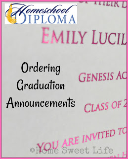 homeschool graduation, graduation announcements, homeschool diploma, graduation open house