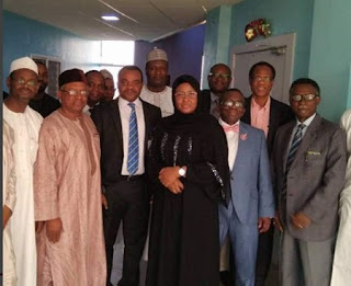 AISHA BUHARI AND DOCTORS WHO SAVED YUSUF