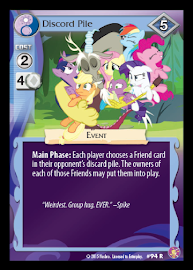 My Little Pony Discord Pile Absolute Discord CCG Card