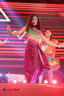 Actress Shreya Vyas Dance Performance Stills at Janatha Garage Movie Music Release Function  0017.jpg