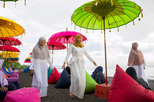 Wisata syariah Pulau Santen Banyuwangi.