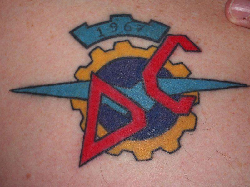 Sexi Ducati Tattoo   viraldaily
